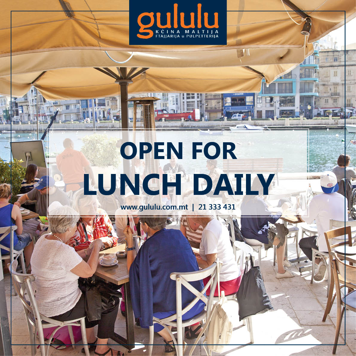Gululu FB lunch advert